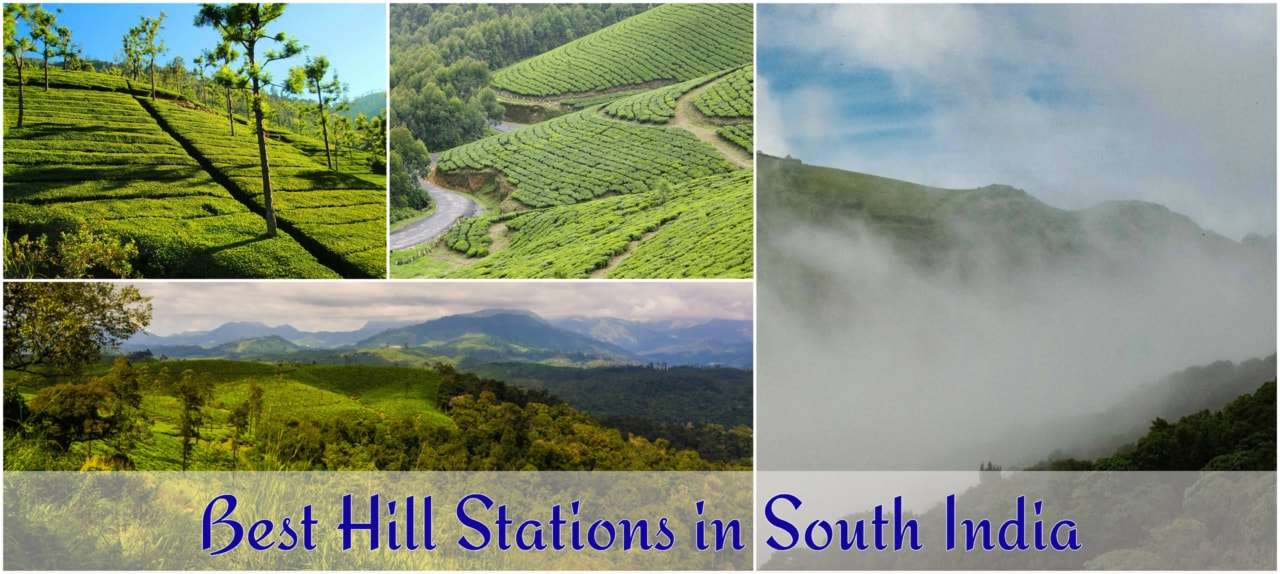 Best hill stations in south india.