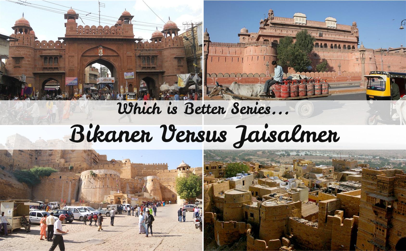 Bikaner Jaisalmer.
