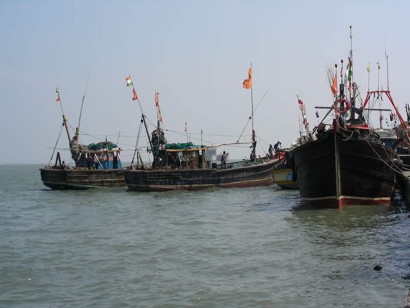 Boat Ride at Diu.