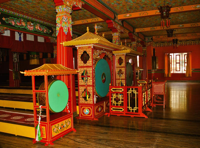 Bokar Ngedon Chokhor Ling Monastery in Mirik.jpg