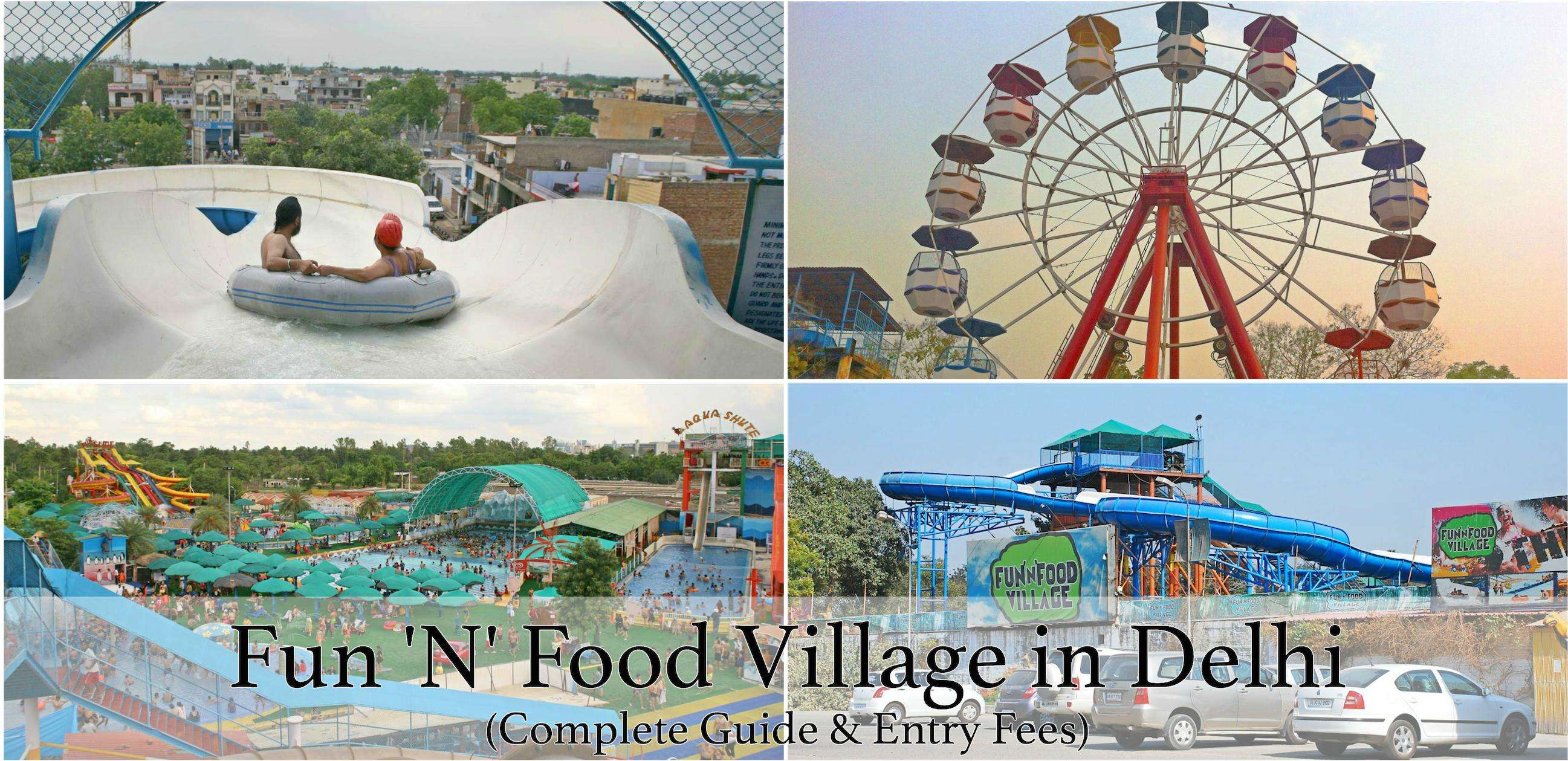 Fun n Food Village delhi.