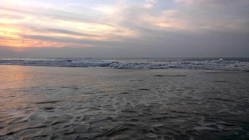 Ghogla Beach.