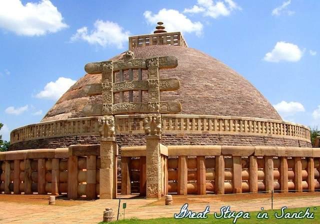 Great-Stupa-sanchi.