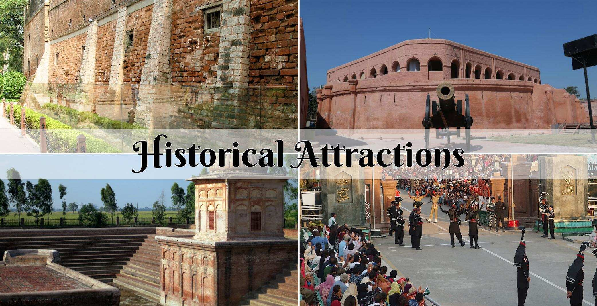 Historical attractions at Amritsar.jpg