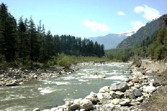 hot spring manikaran Himachal pradesh.