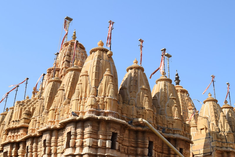 Jain Temple in Jaisalmer Fort.jpg