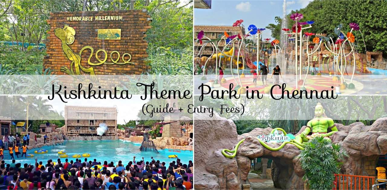 Kishkinta Theme Park entry fee.