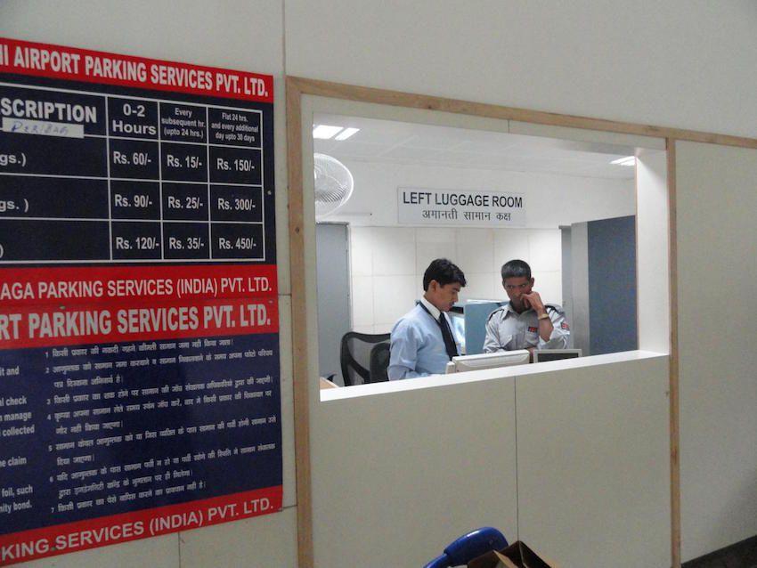 Left Luggage in IGI Airport.jpg