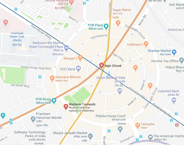 Nearest metro station to Madame Tussauds.jpg