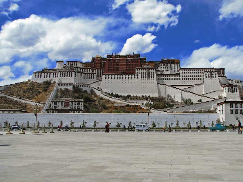 Potala Palace in Lhasa.