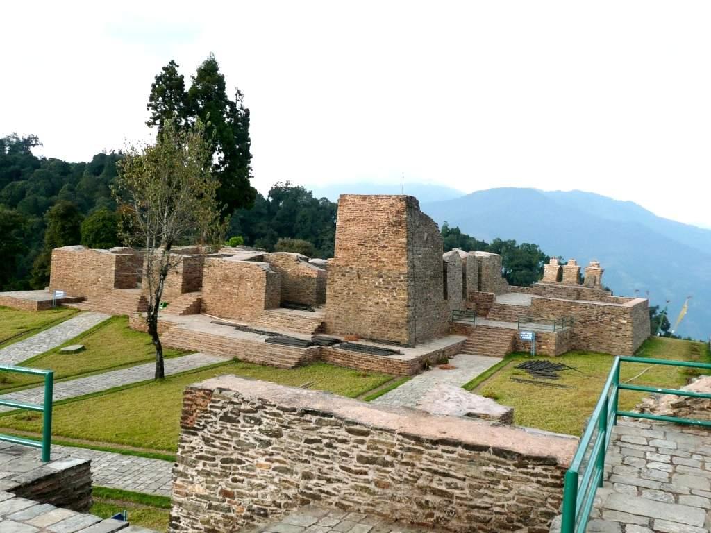 Rabdentse-Palace-Sikkim-India.
