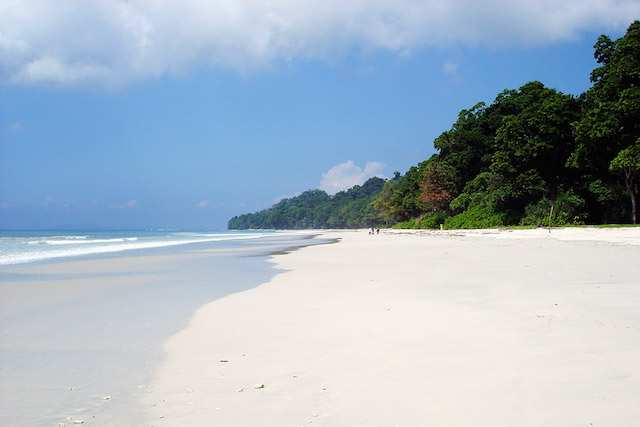 Radha Nagar Beach in Havelock, Andaman.