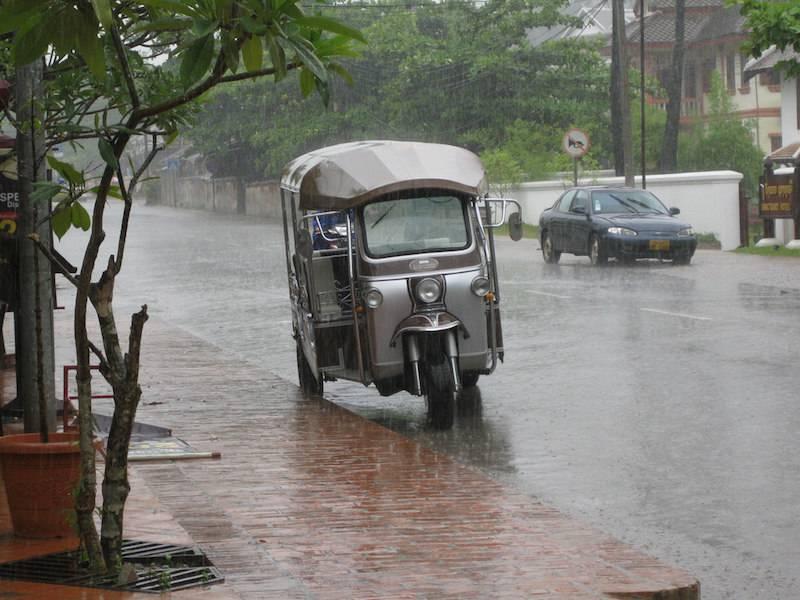 Rainy Bangkok.