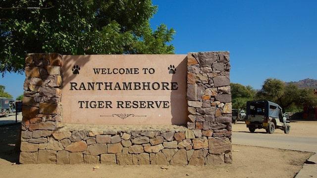 Ranthambore tiger reserve.