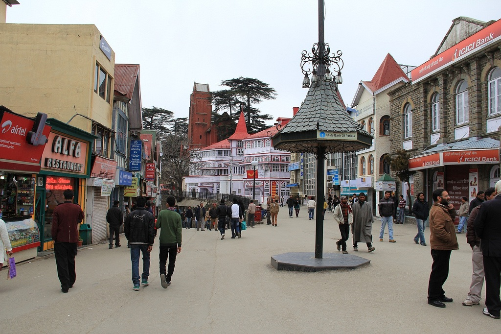 Shimla-mall-road.