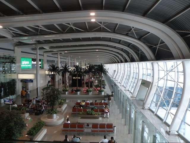 Terminal 1 (Domestic) of Chhatrapathi Shivaji International Airport.jpg