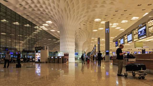 Terminal 2 (International) of Chhatrapathi Shivaji International Airport.jpg