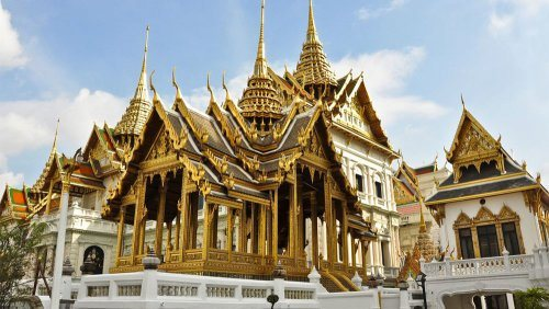 The Grand Palace in Bangkok​.