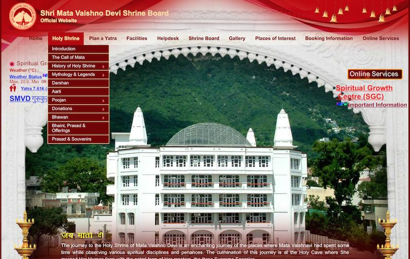 The Shri Mata Vaishno Devi Shrine Board Website%u200B.jpg
