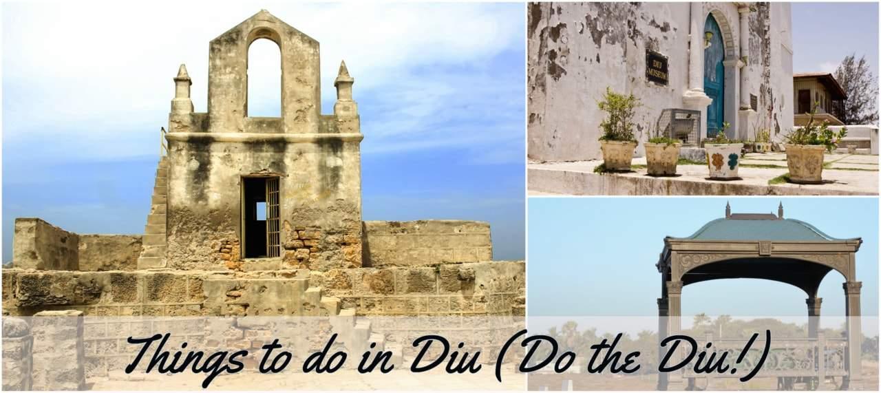 Things to do in Diu.