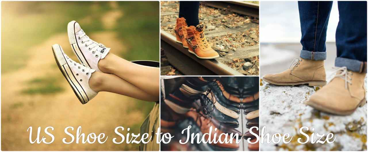 US shoe size to India | India Travel Forum