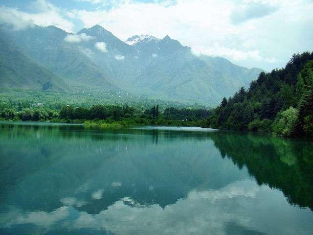 Wular-lake.