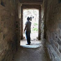 Playing hide and seek with ghosts at Bhangarh