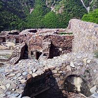 Bhangarh fort palace view from top