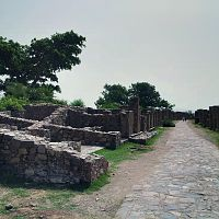 Ancient market Bhangarh