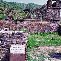 Bhangarh fort dancing girls houses
