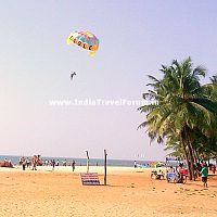 First view of Malpe Beach, Udupi