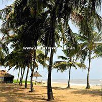 Manjeshwar Beach in Kerala