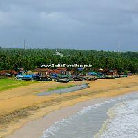 Pallikere Beach as seen from Bekal Fort