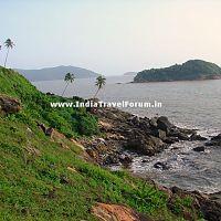 Kurumgad Island as seen from a distance