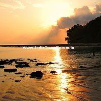 Sunset at Kurumgad Beach