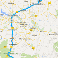 Bangalore - Kotagiri Route