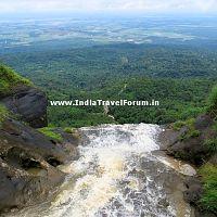 A Waterfalls At Mawsynram, Meghalaya