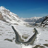 Snow Carpet & Manali-Leh Highway