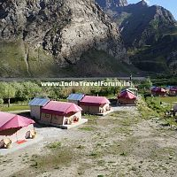 Tent Houses At Jispa