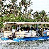 Ferry Ride Through Chunnambar Backwaters