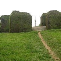 Ruins Of Ita Fort - Image Credit @ Wikipedia