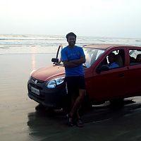 Kannur - Red Beauty At Muzhappilangad Beach