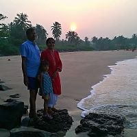 Kannur - Sunrise At Thottada Beach