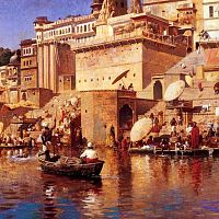 A Painting By Edwin Lord Weeks (1883) Of Varanasi
