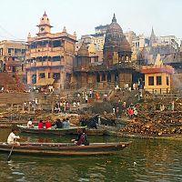 Manikarnika Cremation Ghat at Varanasi