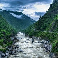 Almora Kosi Valley - Image Credit @ Wiki