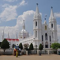Velankanni Church - Image Credit @ Wikipedia