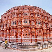 Hawa Mahal Jaipur - Image Credit @ Wiki