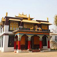 Buddhist Monastery At Mainpat