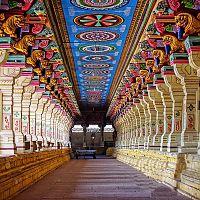 Ramanathaswamy Temple Corridor - Image Credit @ Wikipedia